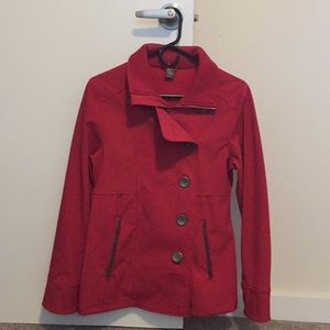 Red Spring/Fall Jacket